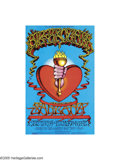 Music Memorabilia:Posters, Big Brother and the Holding Company (featuring Janis Joplin) - Rick Griffin-designed Concert Poster #BG136 (Bill Graham, 1968)...