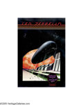 Music Memorabilia:Posters, Led Zeppelin - Day On The Green (Bill Graham Presents, 1977). Inthe mid-1970s Bill Graham began having large, outdoor summ...