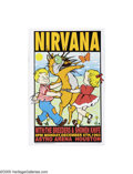 Music Memorabilia:Posters Signed, Frank Kozik - Nirvana Concert Poster, Signed by the Artist (1993)Few can deny that Nirvana were among the most important an... (1 )