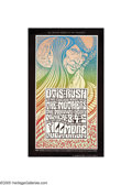 Music Memorabilia:Posters, Otis Rush/Mothers of Invention - Concert Poster #BG53 (Bill Graham,1967). Here is an extremely well-designed poster for an ...
