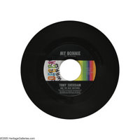 "The Beatles (Tony Sheridan and the Beat Brothers) ""My Bonnie""/""The Saints"" 45 Decca 31382 (1962). It..."