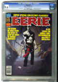 Modern Age (1980-Present):Horror, Eerie #112 (Warren, 1980) CGC NM+ 9.6 Off-white to white pages....