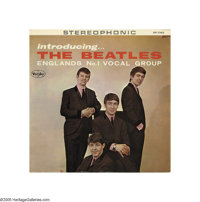 The Beatles - Introducing the Beatles Ad Back LP Stereo Vee-Jay 1062 (1963). You've seen the many counterfeits of this r...