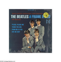 "The Beatles - ""The Beatles and Frank Ifield On Stage"" Portrait Cover LP Vee-Jay 1085 Stereo (1964) The rarest..."