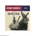 """Music Memorabilia:Recordings, Johnny Burnette and the Rock """"N"""" Roll Trio - S/T Mono LP Coral57080 (1956) Condition: Cover MT 9/ Record NM 8 This extremel... (1)"""