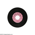 "Music Memorabilia:Recordings, Buddy Holly ""Blue Days - Black Nights"" 45 Promo Decca 29854 (1956).Signed to Decca in January 1956 at age 19, it would be w... (1 )"