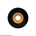 "Music Memorabilia:Recordings, Buddy Holly ""Words of Love"" 45 Coral 61852 (1957). Buddy's firstrelease for Coral, this classic got little airplay, but Joh... (1 )"