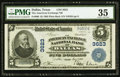 National Bank Notes:Texas, Dallas, TX - $5 1902 Plain Back Fr. 600 The American Exchange NB Ch. # 3623. ...