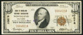 National Bank Notes:California, Woodland, CA - $10 1929 Ty. 1 Bank of Woodland National Assoc Ch. # 10878. ...