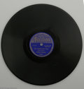 "Music Memorabilia:Recordings, Robert Johnson's ""Hell Hound On My Trail"" b/w ""From Four UntilLate."" Vocalion 03623 (1937) 78 RPM. ""...And the days keeps o..."