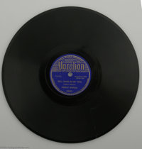 "Robert Johnson's ""Hell Hound On My Trail"" b/w ""From Four Until Late."" Vocalion 03623 (1937) 78 RPM..."
