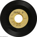 """Music Memorabilia:Recordings, Buddy Knox """"Party Doll"""" b/w Jimmy Bowen """"I'm Sticking With You"""" Autographed 45 Triple-D G8OW797-798 (1957). Before Roulette ... (1 )"""