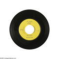 """Music Memorabilia:Recordings, The Teen Kings (Roy Orbison) """"Ooby Dooby"""" 45 Je-Wel 101 (1956).This is Roy Orbison's first recording, which sold very few c... (1)"""