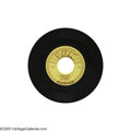 "Music Memorabilia:Recordings, Elvis Presley - ""Mystery Train/I Forgot to Remember To Forget"" 45Sun 223 (1955) Another copy of Elvis' last single for Sun.... (1 )"