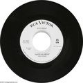"Music Memorabilia:Recordings, Elvis Presley ""That's All Right""/""Blue Moon of Kentucky"" Promo 45RCA 0601 (1964). Elvis' first Sun release from 1954 was re... (1 )"