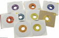 Music Memorabilia:Recordings, Rock and Roll Potpourri - Forty-two 45s (1950s). This variedgroup/instant collection includes lots o' hits and a few surpri...(42 Items)