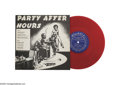 "Music Memorabilia:Recordings, Various Artists - ""Party After Hours"" 10 in. Mono LP Aladdin 703Red Vinyl (1955) Condition: EX 7ts/EX 7 This hot little ite... (1 )"
