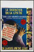 "Movie Posters:Mystery, The List of Adrian Messenger (Universal, 1963). Belgian (14"" X 22""). Mystery...."