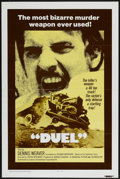 "Movie Posters:Action, Duel (Universal, 1972). One Sheet (27"" X 41""). Action...."