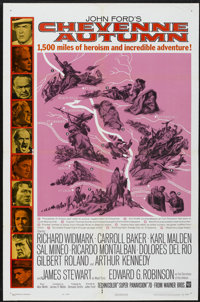 "Cheyenne Autumn (Warner Brothers, 1964). One Sheet (27"" X 41""). Western"