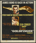 "Movie Posters:James Bond, Goldfinger (United Artists, 1964). Window Card (14"" X 16.5""). James Bond...."