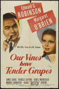 """Movie Posters:Drama, Our Vines Have Tender Grapes (MGM, 1945). One Sheet (27"""" X 41""""). Drama...."""