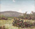Paintings, ROBERT WOOD (1889-1979). Untitled Double-Sided Prickly Pear, 1954. Oil on masonite. 16 x 20 inches (40.6 x 50.8 cm). Sig...