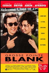 """Grosse Pointe Blank & Other Lot (Buena Vista, 1997). One Sheets (2) (27"""" X 40"""", 27"""" X 41) DS. Comedy..."""