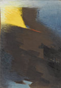 Texas:Early Texas Art - Modernists, DEFORREST JUDD (1916-1992). Untitled. Oil on canvasboard. 13 x 9inches (33.0 x 22.9 cm). Signed lower right. ...