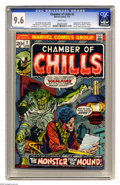 Bronze Age (1970-1979):Horror, Chamber of Chills #2 (Marvel, 1973) CGC NM+ 9.6 White pages. Firstappearance of John Jakes' character Brak the Barbarian, w... (1 )