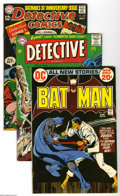 Bronze Age (1970-1979):Miscellaneous, DC Bronze Age Batman Titles Group (DC, 1964-83) Condition: AverageFN-. From the Silver Age to the Modern with the Dark Knig... (14Comic Books)