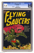 Golden Age (1938-1955):Science Fiction, Flying Saucers #nn (Avon, 1952) CGC FN/VF 7.0 Off-white pages. GeneFawcette cover. Wally Wood cover. Overstreet 2005 FN 6.0... (1 )