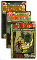 Bronze Age (1970-1979):Horror, Ghosts Group (DC, 1972-73) Condition: Average FN-. Eight-issue lotincludes #5, 7, 8, 9, and 11 (four copies). Approximate O... (8Comic Books)