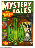 Golden Age (1938-1955):Horror, Mystery Tales #3 (Atlas, 1952) Condition: GD/VG. Overstreet 2005 GD2.0 value = $40; VG 4.0 value = $80.... (Total: 1 Item)