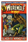 Bronze Age (1970-1979):Horror, Werewolf by Night #1 (Marvel, 1972) Condition: VF+. Debut issue ofthe lycanthropic hero. Mike Ploog cover and art. Overstre... (1 )