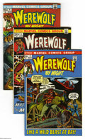 Bronze Age (1970-1979):Horror, Werewolf by Night #2-5 Group (Marvel, 1972-73) Condition: AverageVF+. Four-issue group includes: #2, 3, 4, and 5. Mike Ploo... (4Comic Books)