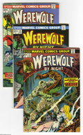 Bronze Age (1970-1979):Horror, Werewolf by Night #13-22 Group (Marvel, 1974) Condition: AverageVF/NM. This group consists of 10 comics: #13, 14, 15 (new W... (10Comic Books)