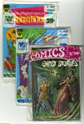 Bronze Age (1970-1979):Miscellaneous, Whitman 3-Pack Group (Whitman, 1970-80) Condition: Average VF/NM.Sealed Whitman three-issue pre-pack group includes these t... (19Comic Books)