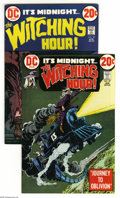 Silver Age (1956-1969):Horror, Witching Hour #27 and 30 Group (DC, 1973) Condition: Average VF.Sixteen-issue lot includes #27 (six copies) and 30 (ten cop... (16Comic Books)