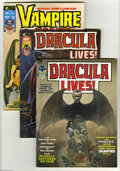 Magazines:Horror, Marvel Magazines Horror Group (Marvel, 1973-75) Condition: Average VF/NM. This group consists of nine magazines: Dracula L... (9 Comic Books)