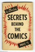 Books, Secrets Behind The Comics #1 (Famous Enterprises Inc., 1947)Condition: VG-. Stan Lee gives you a behind-the-scenes look at ...