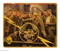 """All Quiet on the Western Front (Universal, 1930). Jumbo Lobby Card (14"""" X 17""""). """"We live in the trenches..."""