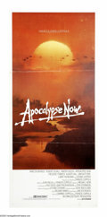 """Movie Posters:War, Apocalypse Now (United Artists, 1979). Australian Daybill (13"""" X30""""). Francis Ford Coppola based this masterpiece on Joseph..."""