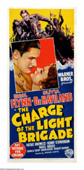 "Movie Posters:Adventure, The Charge of the Light Brigade (Warner Brothers, 1936). AustralianDaybill (13"" X 30""). After the tremendous success of ""Ca..."