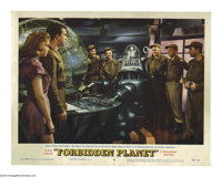 """Forbidden Planet (Loews - MGM, 1956). Lobby Card (11"""" X 14""""). Based on Shakespeare's play """"The Tempest,&q..."""