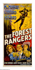 "Movie Posters:Action, The Forest Rangers (Paramount, 1942). Australian Daybill (13"" X30""). George Marshall directs this action/romance that has F..."