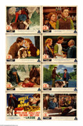 """Movie Posters:Adventure, Hills of Home (MGM, 1948). Lobby Card Set of 8 (11"""" X 14""""). WilliamMcClure (Edmund Gwenn) is the aging village doctor in a ... (8Items)"""