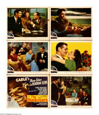 "The Hucksters (MGM, 1947). Title Card and Lobby Cards (6) (11"" X 14""). Ad man Vic Norman (Clark Gable) finds t..."