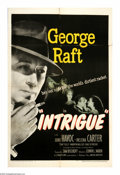 "Movie Posters:Adventure, Intrigue (United Artists, 1947). One Sheet (27"" X 41""). George Raftruns contraband in post-war Shanghai for black marketeer..."