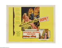 """Pickup Alley (Columbia, 1957). Half Sheet (22"""" X 28""""). Gee, what do you suppose this picture is about? FBI age..."""